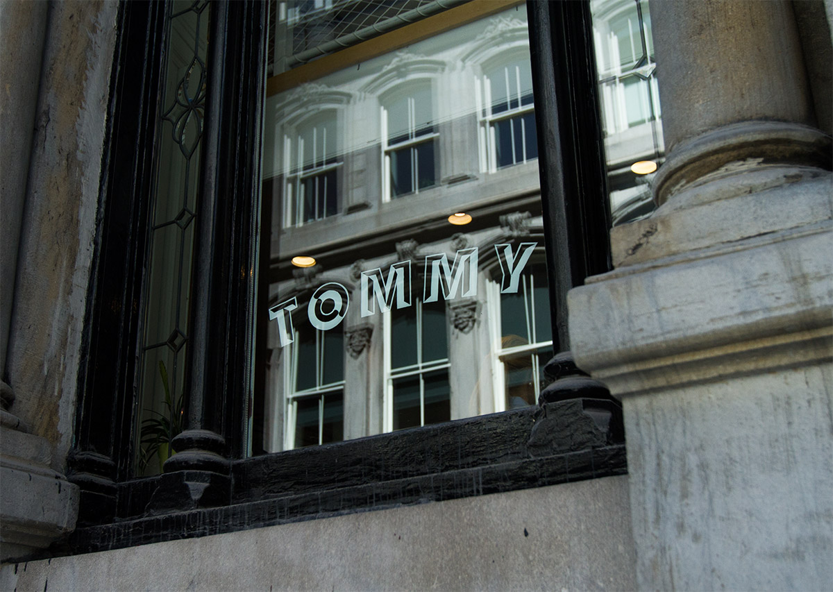 Tommy Lettering Coppers and Brasses